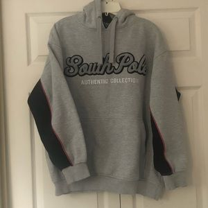 south pole men hoodie size large